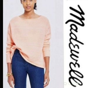 Madewell | Chunky Knit Boatneck Sweater